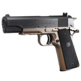 Softair ab 14 - Cybergun Colt 1911 A1 Springer 6mm BB Bicolor