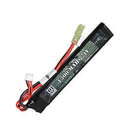 101 INC. LiPo Akku 7,4V 1300 mAh 20 C Stick-Type