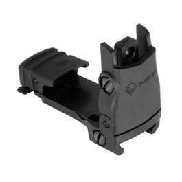 Mission First Tactical Rear Back Up Flip Up Sight schwarz