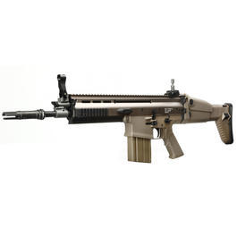 Classic Army Scar - Wei-ETech Socom-H CQC MK17 Mod 0 Vollmetall S-AEG 6mm BB desert