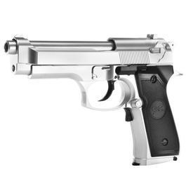 Softair ab 14 - SRC SR92 elektr. Blowback EBB 6mm BB silber