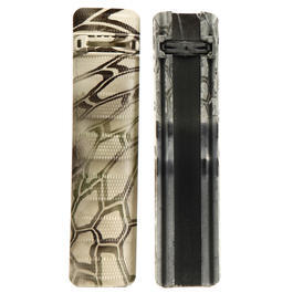 Dytac T-Style Battle Rail Cover 156mm 2er Set - Kryptek Highlander