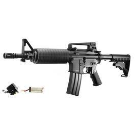 Sportwaffen - A&K M933 Commando Komplettset S-AEG 6mm BB schwarz