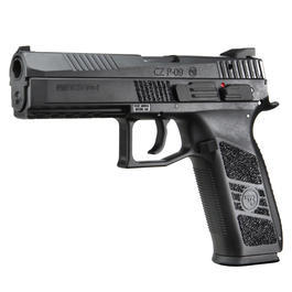 KJ Works CZ P-09 Duty Polymer-Version GBB 6mm BB schwarz