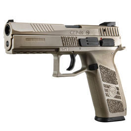KJ Works CZ P-09 Duty Polymer-Version GBB 6mm BB Flat Dark Earth