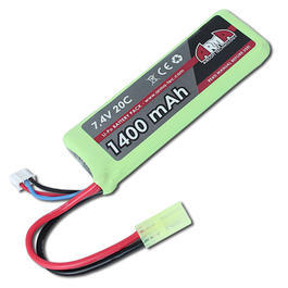 Arma Tech LiPo Akku 7,4 V 1400 mAh 20C Panel