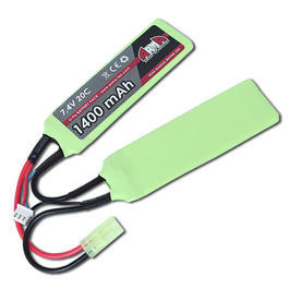 Arma Tech LiPo Akku 7,4 V 1400 mAh 20C Double Panel