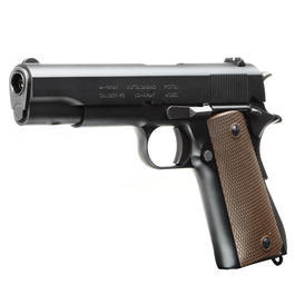 KSC M1911A1 Commercial Military Vollmetall GBB (System 7) 6mm BB schwarz