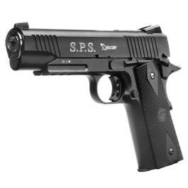 Softairwaffen - RWA SPS Falcon Vollmetall CO2 Blowback 6mm BB schwarz