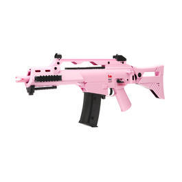 Heckler & Koch G36C IDZ DualPower Komplettset AEG / Springer 6mm BB Pink Edition