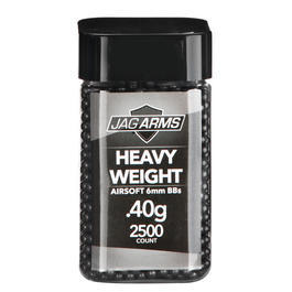 Jag Arms Heavy Weight Series BBs 0,40g 2.500er Container dunkelgrau