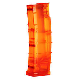 6mmProShop M4 / M16 Magazin Style Speedloader f�r 450 BBs orange-transparent