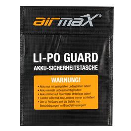 airmaX Li-Po Guard Sicherheitstasche 23 x 18cm schwarz