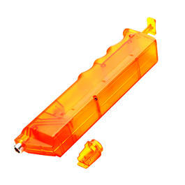 6mmProShop SMG Magazin Style Speedloader f�r 350 BBs orange-transparent