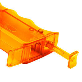 6mmProShop SMG Magazin Style Speedloader für 350 BBs orange-transparent