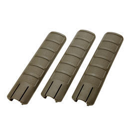 King Arms Rail Cover 157mm 3er Set - oliv