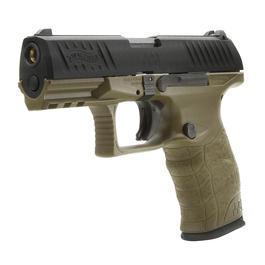CO2 Softair - VFC Walther PPQ M2 mit Metallschlitten GBB 6mm BB RAL8000 / schwarz