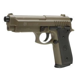 Softair ab 14 - Cybergun Taurus PT92 mit Metallschlitten Springer 6mmBB tan