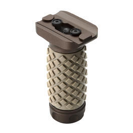 G&P KeyMod Aluminium Diamond Vertical Frontgriff Short-Type sand