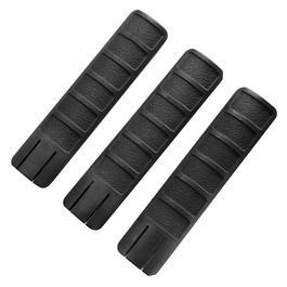 King Arms Rail Cover 157mm 3er Set - schwarz