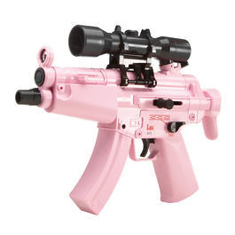 Umarex Mini HK MP5 Kidz Dualpower AEG Springer 6mm BB Girls-Pink Edition