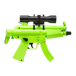 Umarex Mini HK MP5 Kidz Dualpower AEG Springer 6mm BB Zombie-Green Edition