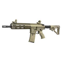 Softairwaffen - ICS PAR Mk3 MTR C Proarms Armory Vollmetall EBB S-AEG 6mm BB Tan