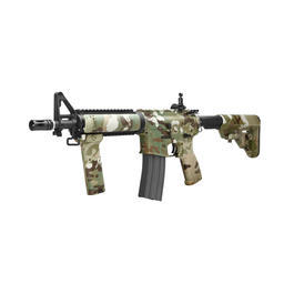 freie Waffen - Dytac M4 CQBR Combat Series Vollmetall S-AEG 6mm BB Multicam