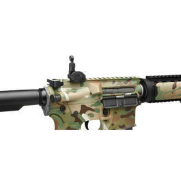 Dytac M4A1 RIS Carbine Combat Series Vollmetall S-AEG 6mm BB Multicam