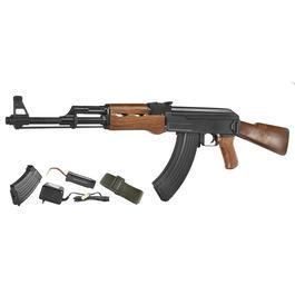 Classic Army Softair - Galaxy G27 / AK47 Fixed Stock Komplettset AEG 6mm BB Holzoptik