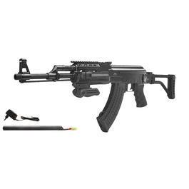 Airsoft - Jing Gong AK47 Tactical mit Klappschaft Komplettset S-AEG 6mm BB schwarz