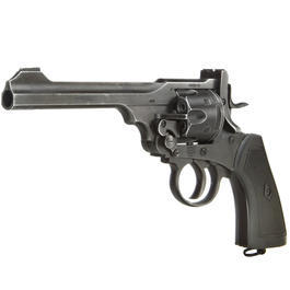 Gun Heaven Webley MK VI Revolver Vollmetall CO2 6mm BB Battlefield Finish