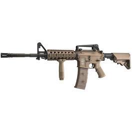 Classic Army - ASG LMT Defender 4 M15A4 RIS Proline Vollmetall S-AEG 6mm BB Desert Tan