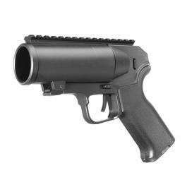 6mmProShop 40mm Airsoft Pocket Pistolen-Launcher Shorty schwarz