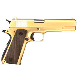 Wei-ETech M1911 Vollmetall GBB 6mm BB 24K Gold-Plated Edition