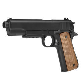 Well M1911 TacRail Springer 6mm BB schwarz