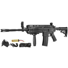 Softair ab 14 - DBoys M4 S-System Vollmetall Komplettset AEG 6mm BB schwarz
