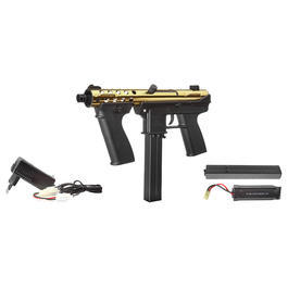 Sportwaffen - Echo1 GAT Komplettset S-AEG 6mm BB Limited Edition gold / schwarz