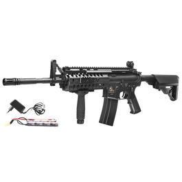Classic Army Sportline - ASG Armalite M15 S.I.R. Mod. 2 Sportline Komplettset S-AEG 6mm BB schwarz