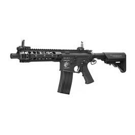 G&P Knights Armament M4 CQB URX3 Vollmetall S-AEG 6mm BB schwarz - Standard Version
