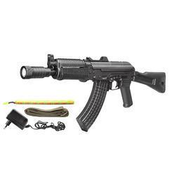 Softair-Waffe - Kalash SLR106UR Stahlgehäuse Komplettset S-AEG 6mm BB schwarz