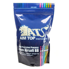 AIM Top High Precision Night Glow Tracer BIO BBs 0,20g 5.000er Beutel weiss