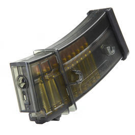 Ares G36 Magazin Low-Cap 45 Schuss - rauch-transparent