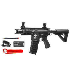 Combat Machine M4 Fire Hawk HC05 High Cycle Komplettset AEG 6mm BB schwarz