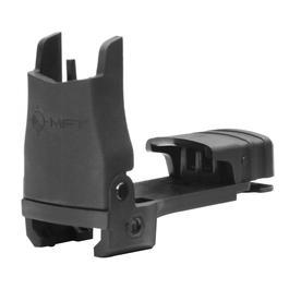 MFT BUPSWF Polymer Flip-Up Front Sight f. 21mm Schienen schwarz