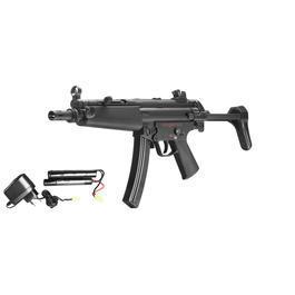 SRC Heckler & Koch MP5 A3 Sportsline Komplettset S-AEG 6mm BB schwarz
