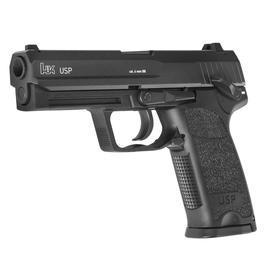 KWC Heckler & Koch USP mit Metallschlitten CO2 BlowBack 6mm BB schwarz