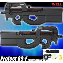 Well Project 09-F Komplettset AEG 6mm BB Softair