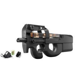 Softair AEG - Well Project 09-F Komplettset AEG 6mm BB schwarz