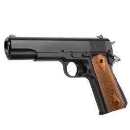 HFC M1911 A1 Gas NBB Softairpistole 6mm BB schwarz